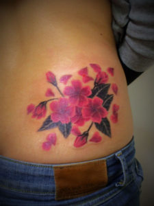 miyawaki tattoo sakura color