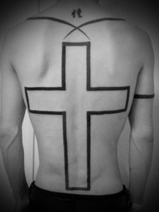 miyawaki tattoo cross