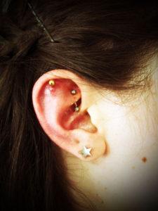 miyawaki bodypiercing rook helix ear loob