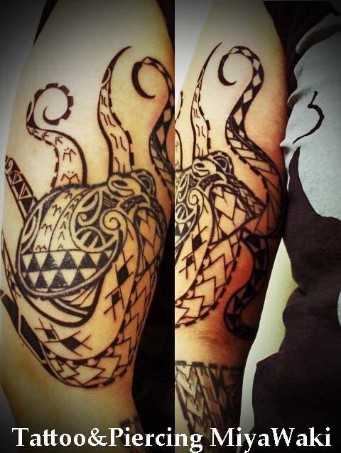 polynesian-tattoo octopus