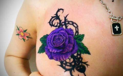 mitawaki tattoo rose