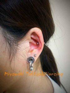 miyawaki body piercing innner conti