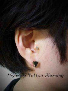 miyawaki body piercing tragus