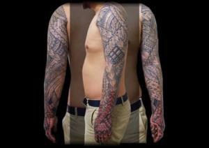 Miyanesian (Polynesian Style Tattoo)